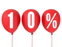 segno di vendita di 10% Immagine Stock Libera da Diritti