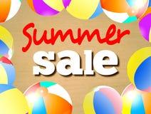 Segno di vendita di estate Fotografia Stock Libera da Diritti