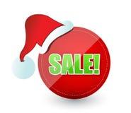 Segno di vendita di Natale Fotografia Stock
