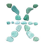 Segno di vetro dello zodiaco del mare Immagini Stock