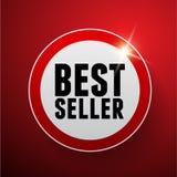 Segno di vettore del bestseller Immagini Stock Libere da Diritti
