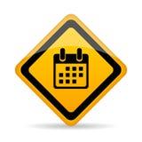 Segno di vettore del calendario royalty illustrazione gratis
