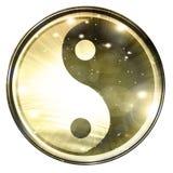Segno di Yin Yang illustrazione vettoriale