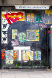 Segno diStratford-Sopra-Avon Immagini Stock Libere da Diritti