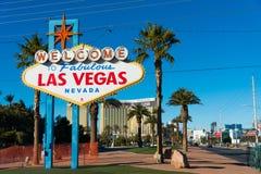 Segno famoso di Las Vegas fotografie stock