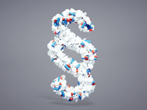 Segno farmaceutico di paragrafo Fotografie Stock Libere da Diritti