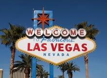 Segno favoloso di Las Vegas Fotografia Stock