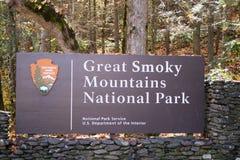 Segno fumoso delle montagne Immagine Stock Libera da Diritti