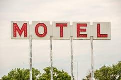 Segno generico del motel Immagine Stock