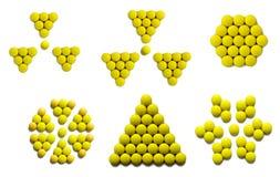 Segno giallo immagini stock libere da diritti