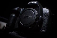 Segno ii di Canon 5d Fotografie Stock Libere da Diritti