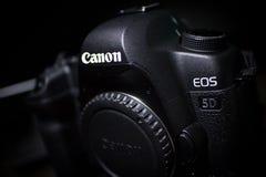Segno II di EOS 5D di Canon Fotografia Stock