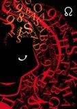 Segno leo dello zodiaco Fotografia Stock Libera da Diritti
