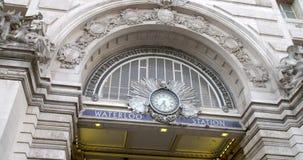Segno Londra della stazione di Waterloo archivi video