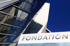 Segno LVMH di Louis Vuitton Foundation Immagini Stock