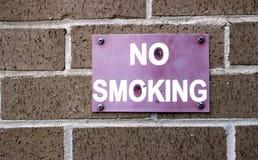 Segno non fumatori immagini stock libere da diritti