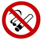 Segno non fumatori Fotografie Stock