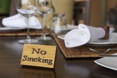 Segno non fumatori Fotografie Stock Libere da Diritti