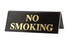 Segno non fumatori granuloso fotografie stock libere da diritti