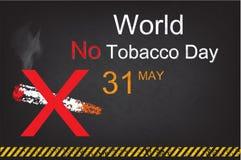 Segno non fumatori sul fondo di lerciume più Immagine Stock Libera da Diritti