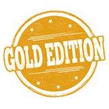 Segno o bollo dell'edizione dell'oro illustrazione di stock
