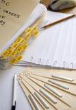 Segno qui 2 Fotografia Stock Libera da Diritti