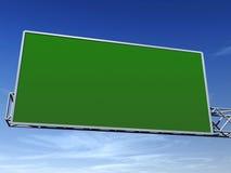 Segno verde Fotografia Stock Libera da Diritti