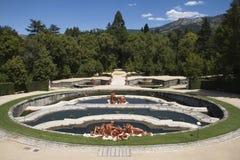 Segobia sławny miasto w Hiszpania Obrazy Royalty Free
