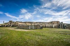 Segobriga, Cuenca Province, Castile-La-Mancha, Spain Royalty Free Stock Photography
