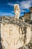 Segobriga, Cuenca Province, Castile-La-Mancha, Spain Royalty Free Stock Image