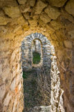 Segobriga, Cuenca-Provinz, Kastilien-La Mancha, Spanien Lizenzfreie Stockfotos
