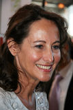Segolene Royal at Paris' Book Fair Stock Images