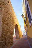 Segorbe Castellon Torre del Verdugo medieval Muralla Spain Royalty Free Stock Photography