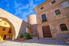 Segorbe Castellon Torre del Verdugo Muralla medievale Spagna Immagini Stock