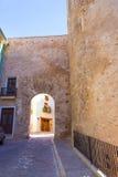 Segorbe Castellon Torre losu angeles Carcel portal de Teruel Hiszpania Zdjęcia Stock