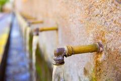Segorbe fuente de los 50 canos fountain Castellon Spain Stock Photo
