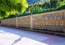 Segorbe fuente de los 50 canos fountain Castellon Spain Royalty Free Stock Photography