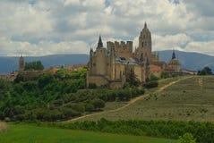 Segovia城堡 库存图片