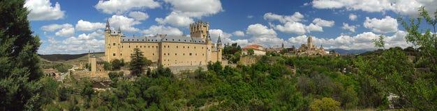 Segovia城堡03 图库摄影