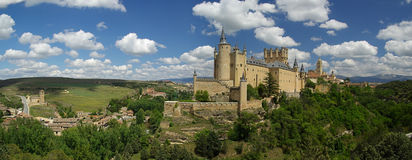 Segovia城堡04 免版税图库摄影