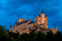 Segovia堡垒  免版税库存照片