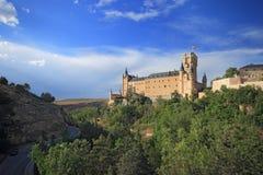 Segovia,西班牙 城堡segovia 库存图片