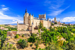 Segovia,西班牙 免版税库存照片