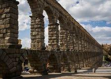 Segovia ρωμαϊκό υδραγωγείο, Ισπανία Στοκ φωτογραφία με δικαίωμα ελεύθερης χρήσης