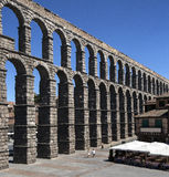 Segovia ρωμαϊκό Aquaduct - Ισπανία Στοκ Εικόνες