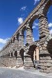 Segovia - τα archs του υδραγωγείου Στοκ Φωτογραφίες