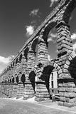 Segovia - τα archs του υδραγωγείου Στοκ εικόνα με δικαίωμα ελεύθερης χρήσης