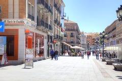 segovia 西班牙 都市的横向 图库摄影