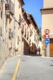 segovia 西班牙 都市的横向 库存照片