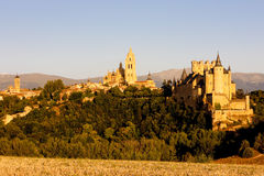 Segovia. In Castile and Leon, Spain Royalty Free Stock Photography
